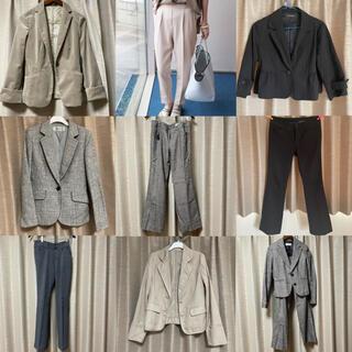 コムサイズム(COMME CA ISM)のスーツ ジャケット スラックス まとめ売り セット(スーツ)
