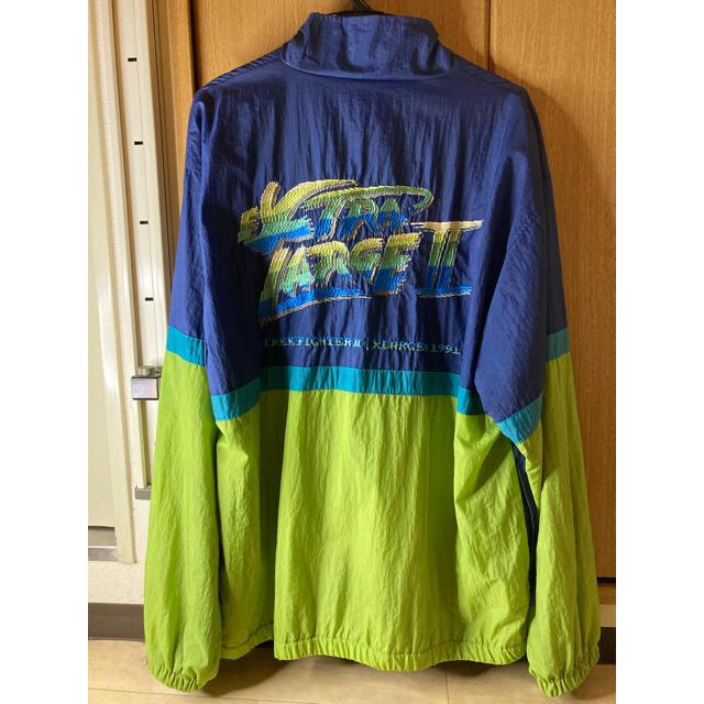 XLARGE(エクストララージ)の【激レア】XLARGE ストリートファイターⅡ コラボ ジャンパー メンズのジャケット/アウター(ナイロンジャケット)の商品写真