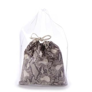 ミラオーウェン(Mila Owen)のミラオーウェン Mila Owen 巾着付PVCバッグ(ハンドバッグ)