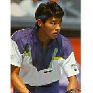 ゴールドウィン(GOLDWIN)の【レア】80s used 松岡修造モデル テニスシャツ〈L〉ゴールドウイン(ウェア)