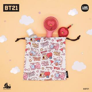 ボウダンショウネンダン(防弾少年団(BTS))のBT21 巾着(ポーチ)