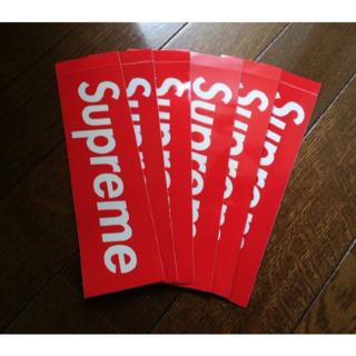 シュプリーム(Supreme)の正規品 ! SUPREME ステッカー 6枚 セット 送料無料(その他)