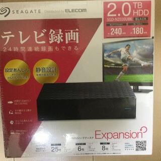 エレコム(ELECOM)のSeagate Expansion 2TB(PCパーツ)
