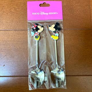 Disney - ミッキー ミニー スプーン