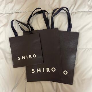 シロ(shiro)のSHIRO ショップ袋(ショップ袋)