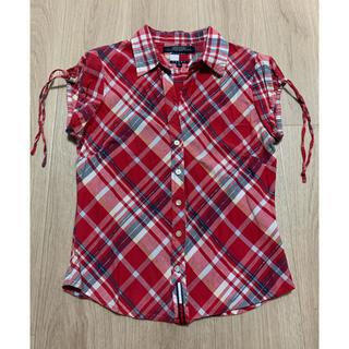 トミー(TOMMY)のTOMMY JEANS  チェックシャツ(シャツ/ブラウス(半袖/袖なし))