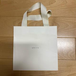 シロ(shiro)のshiro 紙袋 ショップ袋(ショップ袋)