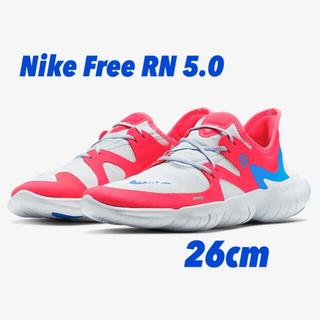 ナイキ(NIKE)のNike Free RN 5.0 26cm 短距離走用ランニングシューズ(シューズ)