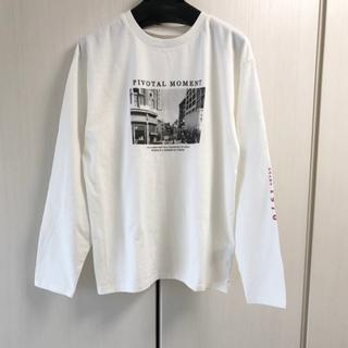 アングリッド(Ungrid)の新品 フォトプリントロングスリーブTee(Tシャツ(長袖/七分))