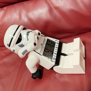 レゴ(Lego)のレゴ スターウォーズ ストームトルーパー 目覚まし 時計 デジタル (置時計)