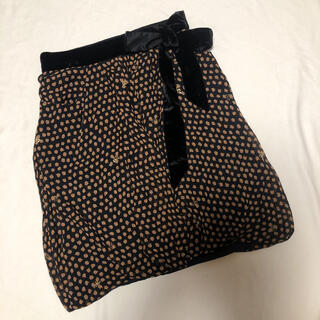 ツモリチサト(TSUMORI CHISATO)のツモリチサト シルク バルーンスカート 2(ひざ丈スカート)