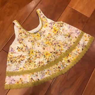 アナスイミニ(ANNA SUI mini)のアナスイミニ キャミソール Sサイズ 105〜115(Tシャツ/カットソー)