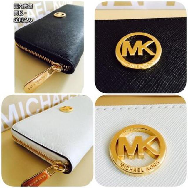 new style 23cab 04fa5 MK 長財布