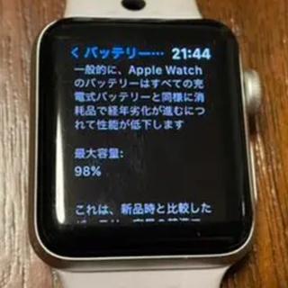 アップルウォッチ(Apple Watch)のApple Watch Nike+ series3 38mm GPS 本体のみ(腕時計(デジタル))