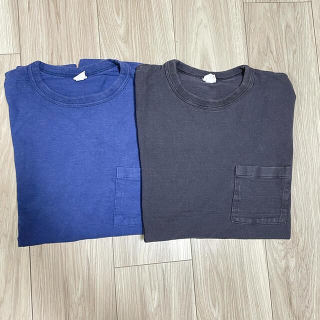 WAREHOUSE(ウエアハウス)のMORTOR tee black moto leather warehouse メンズのトップス(Tシャツ/カットソー(半袖/袖なし))の商品写真