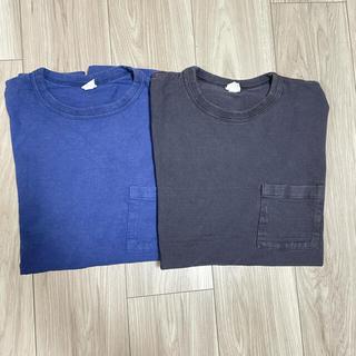 ウエアハウス(WAREHOUSE)のMORTOR tee black moto leather warehouse(Tシャツ/カットソー(半袖/袖なし))