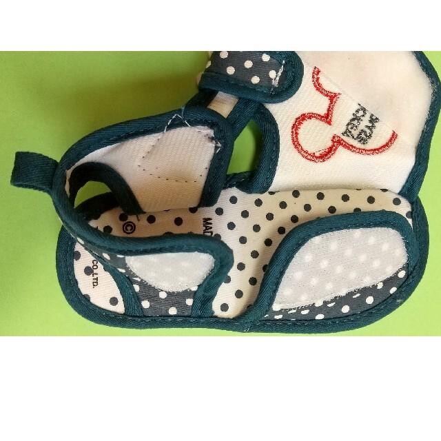 Disney(ディズニー)のベビー キッズ ミッキー サンダル 14 センチ  キッズ/ベビー/マタニティのベビー靴/シューズ(~14cm)(サンダル)の商品写真