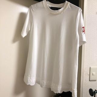 ドゥロワー(Drawer)のお文具様専用 シモーネロシャ Tシャツ XSサイズ(Tシャツ/カットソー(半袖/袖なし))