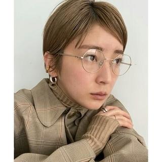トゥデイフル(TODAYFUL)の【新品】ゾフ Zoff×REIKA YOSHIDA ボストン型眼鏡 トゥデイフル(サングラス/メガネ)