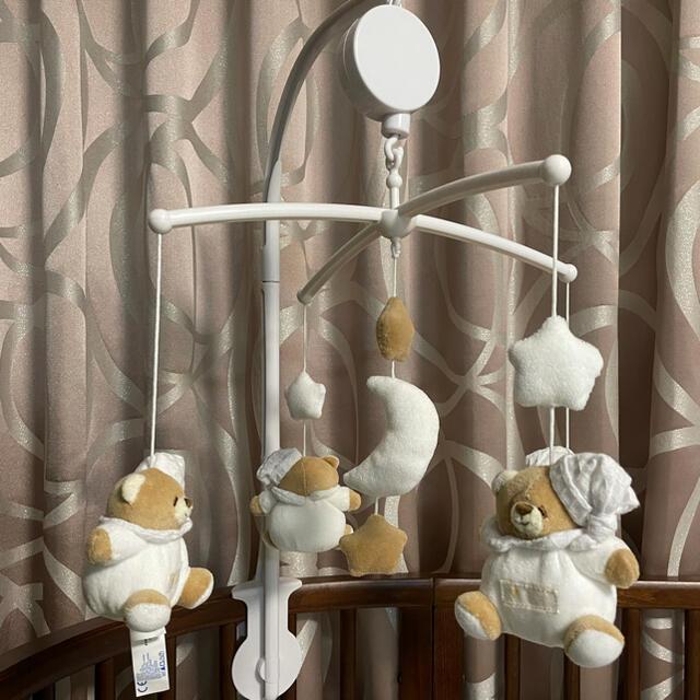 nanan ベッドメリー TATO(タット) キッズ/ベビー/マタニティのおもちゃ(オルゴールメリー/モービル)の商品写真