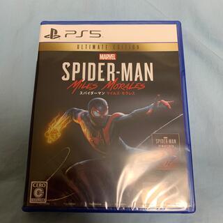 新品 PS5 Marvel's Spider-Man Miles Morales(家庭用ゲームソフト)