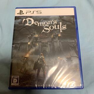 新品 PS5 Demon's Souls デモンズソウル プレイステーション 5(家庭用ゲームソフト)