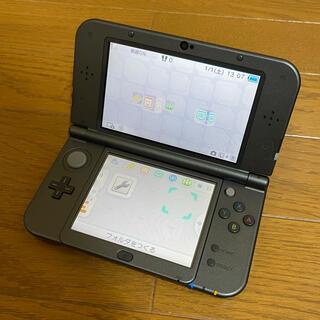 ニンテンドー3DS(ニンテンドー3DS)のNew Nintendo 3DS LL ブラック 中古(携帯用ゲーム機本体)