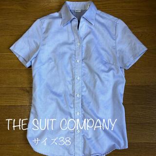 スーツカンパニー(THE SUIT COMPANY)のスーツカンパニー 半袖シャツ レディース(シャツ/ブラウス(半袖/袖なし))