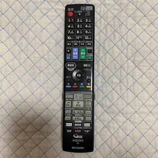 アクオス(AQUOS)のAQUOS Blu-rayレコーダー リモコン(ブルーレイレコーダー)