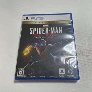 ソニー(SONY)のPSソフト SPIDER-MAN MILES MORALES(家庭用ゲームソフト)