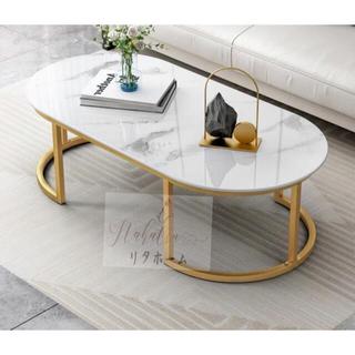ローテーブル 北欧シンプルでモダンなガラスコーヒーテーブル (ローテーブル)