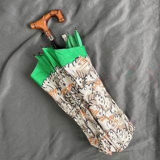 Vivienne Westwood - ヴィヴィアンウエストウッド 折り畳み傘 総柄 ステッキ 袋無し