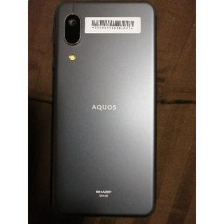 アクオス(AQUOS)のAQUOS sense3 basic  Black 新品一式(スマートフォン本体)
