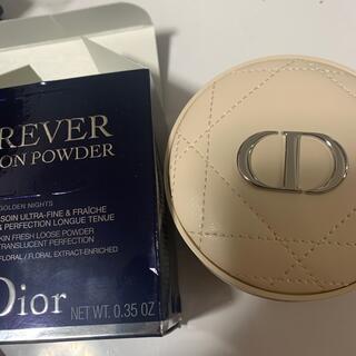 Dior - ディオール クッションパウダー ゴールデンナイツ 限定品