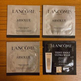 ランコム(LANCOME)のランコム アプソリュ ソフトクリーム 3包 タンイドルウルトラウェアリキッド(フェイスクリーム)