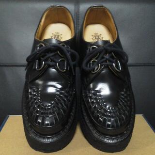ジョージコックス(GEORGE COX)のGeorgeCox 英国製 ラバーソール UK6 厚底 3588 清春 男女可(ローファー/革靴)