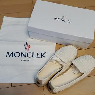 モンクレール(MONCLER)のモンクレール  メッシュエスパドリーユ(スリッポン/モカシン)