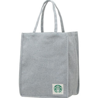 スターバックスコーヒー(Starbucks Coffee)のスターバックス アップサイクルコットン ショッパーバッグ デニムブルー(エコバッグ)