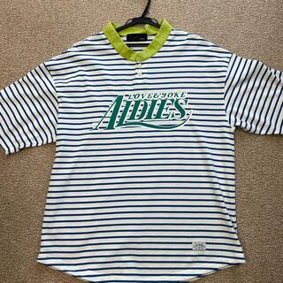 アールディーズ(aldies)のアールディーズ ラガーTシャツ(Tシャツ/カットソー(半袖/袖なし))