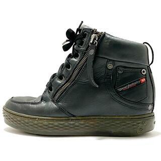 ディーゼル(DIESEL)のディーゼル ショートブーツ JPN 24 - 黒(ブーツ)