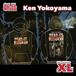 【新品/XL】ken Yokoyama パーカー DEAD AT BUDOKAN(ミュージシャン)