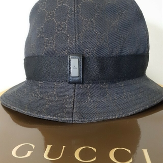 グッチ(Gucci)のタグ付きGUCCI新品未使用ハット(ハット)
