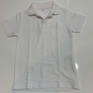 イオン(AEON)の白 半袖ポロシャツ 120㎝(Tシャツ/カットソー)