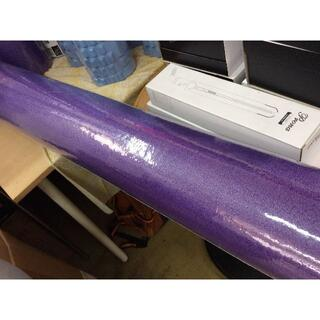 YAF21-453 訳有 新品 ヨガポール パープル 98cm(ヨガ)