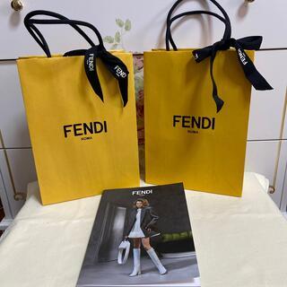 フェンディ(FENDI)のフェンディ ショップ 袋とリボン 5点セット(ショップ袋)