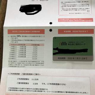 ミツコシ(三越)の三越伊勢丹ホールディングス株主優待(その他)