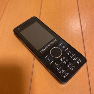 サムスン(SAMSUNG)のSIMフリー ソフトバンク 830SC アルマーニガラケー(携帯電話本体)