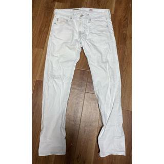 エージー AG ホワイトデニム DYLAN 30 ホワイトジーンズ
