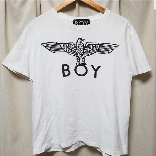 Boy London(ボーイロンドン)のボーイロンドン BOY LONDON デカロゴ Tシャツ カットソー メンズのトップス(Tシャツ/カットソー(半袖/袖なし))の商品写真