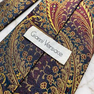 ジャンニヴェルサーチ(Gianni Versace)の即購入OK!3本選んで1本無料!ヴェルサーチ Versace ネクタイ 6597(ネクタイ)